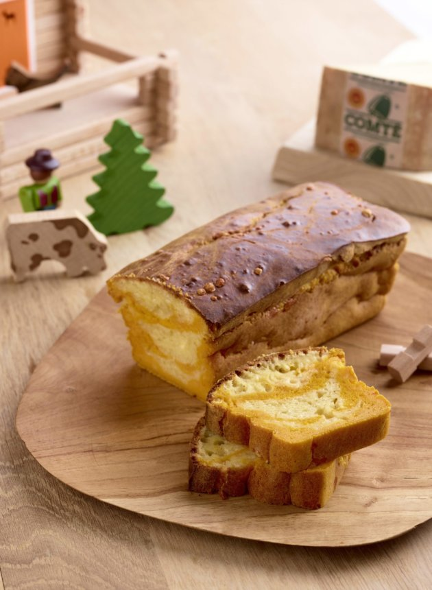 Cake marbre potiron