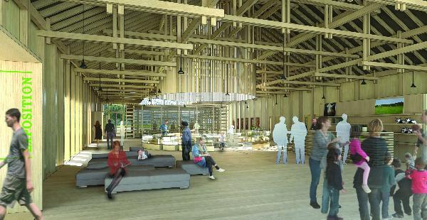 """Future Maison du Comté : """"Une interprétation contemporaine du bâti traditionnel"""".jpeg"""