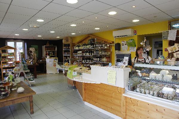 Le magasin de la fruitière. (Photo © CIGC/Petit)