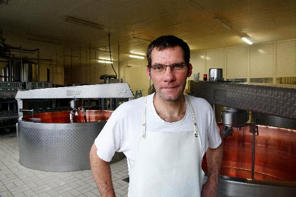 Cyrille Journeaux, fromager. (Photo © CIGC/Petit)