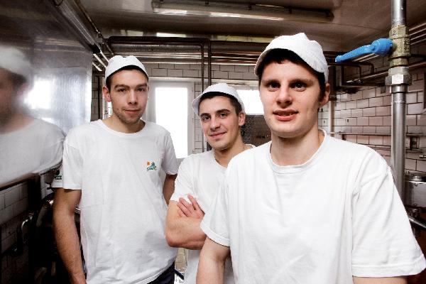 Les premières aventures fromagères des trois amis ont commencé là, au chalet de Villeneuve-d'Amont.