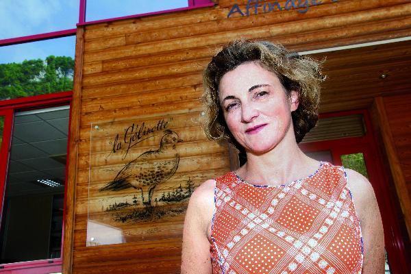 """Isabelle Seignemartin a beaucoup voyagé. Si elle était un pays, elle serait l'Italie """"pour son idéal de vie douce"""" ! (Photo © CIGC/Petit)"""